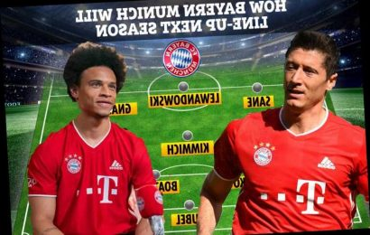 How Bayern Munich will line-up next season with Leroy Sane heading attack and making them best team in world again