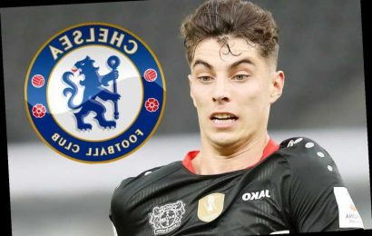 Chelsea transfer blow with Kai Havertz refusing to sign unless Lampard's side get into Champions League next season