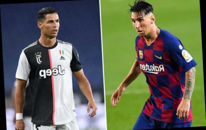 Football agents 'dreaming about Lionel Messi and Cristiano Ronaldo partnership' after Barcelona star's quit hint