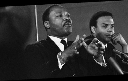 """Civil rights leader Andrew Young says racism is based on fear, and George Floyd's death """"touched the heart of the planet"""""""