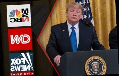 Trump Blasts CNN and MSNBC for Not Airing RNC Roll Call