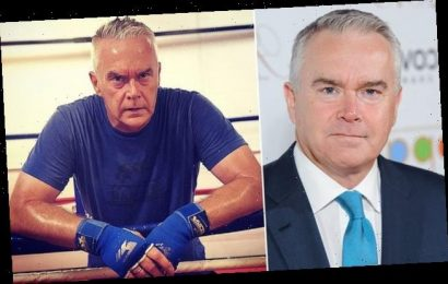 Huw Edwards reveals he took up boxing to cope with his depression