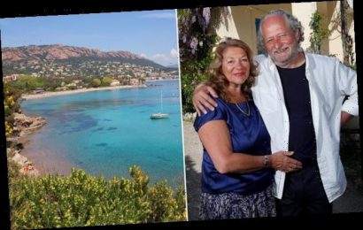CAROL DRINKWATER's enchanting account of her summer on the Riviera