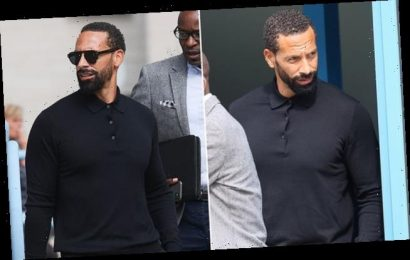 Rio Ferdinand is banned from driving for six months after speeding