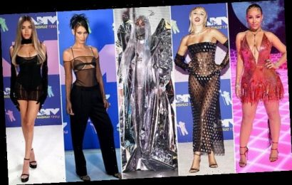 MTV VMAs: Miley Cyrus and Lady Gaga lead the red carpet arrivals