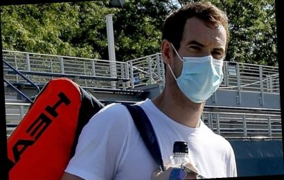 Andy Murray told off for not wearing coronavirus face mask ahead of first official match in nine months