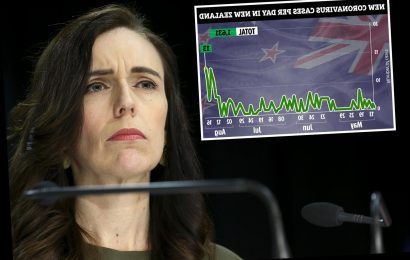 New Zealand coronavirus spike forces PM Jacinda Ardern to delay general election as country battles 69 infections