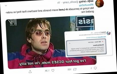 A-level results day: Students share hilarious memes and joke 'give us three As' on weirdest results day ever