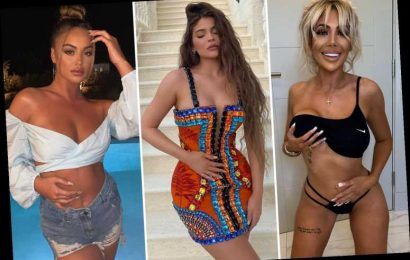 The Pregnant Pause is the latest pose everyone from Kylie Jenner to Chloe Ferry is rocking