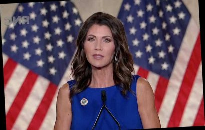 Gov. Kristi Noem likens Trump's challenges to Lincoln's at RNC