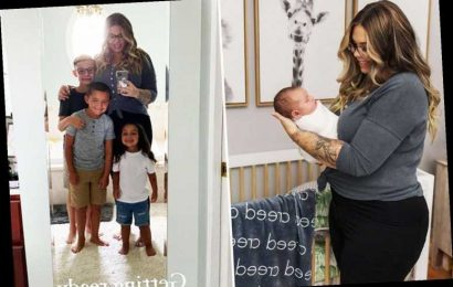 Teen Mom Kailyn Lowry reveals new baby's name is Creed after considering names Austin and Jason for fourth son