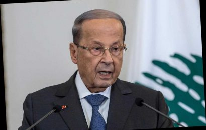Lebanon's president knew about huge explosives stockpile weeks before blast which left 154 dead and 300,000 homeless