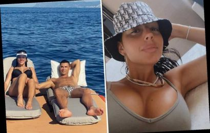 Georgina Rodriguez puts on VERY busty display as Cristiano Ronaldo's partner reveals all with stunning Instagram snap