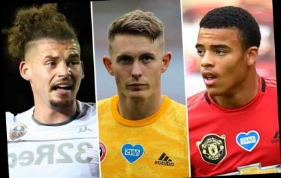Man Utd's Mason Greenwood and Dean Henderson among six rising stars who could crash Euros with England