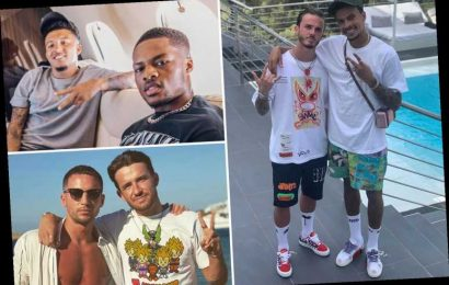 Footballers on holiday, from Alli, Maddison, Grealish and Sancho in Ibiza to Ronaldo in Portofino and Rooney in Barbados