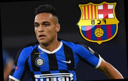 Barcelona confirm they will reopen Lautaro Martinez transfer talks after Champions League but rule out Neymar move