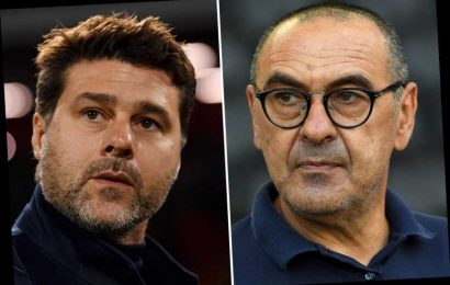 Juventus 'lining up replacements for Maurizio Sarri after just one season with Mauricio Pochettino on shortlist'