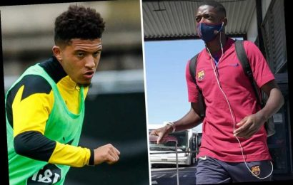 Man Utd should turn transfer attention to Ousmane Dembele if £108m Jadon Sancho deal falls through, claims Rivaldo