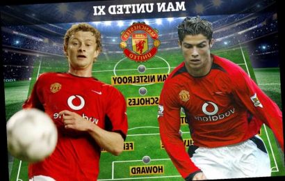 Where are Cristiano Ronaldo's Man Utd team-mates from 2003 debut? From Djemba-Djemba… to the current Red Devils boss – The Sun