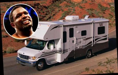 Dillian Whyte could live in a WINNEBAGO this week as risk of him fighting Povetkin at hotel is so high, reveals Hearn