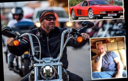 See Dana White's amazing car collection including £210k Ferrari, £20k custom-made Harley and a Bombardier jet – The Sun