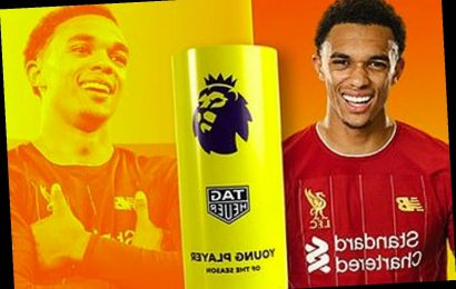 Trent Alexander-Arnold named Young Player of the Year after stunning Premier League winning season for Liverpool