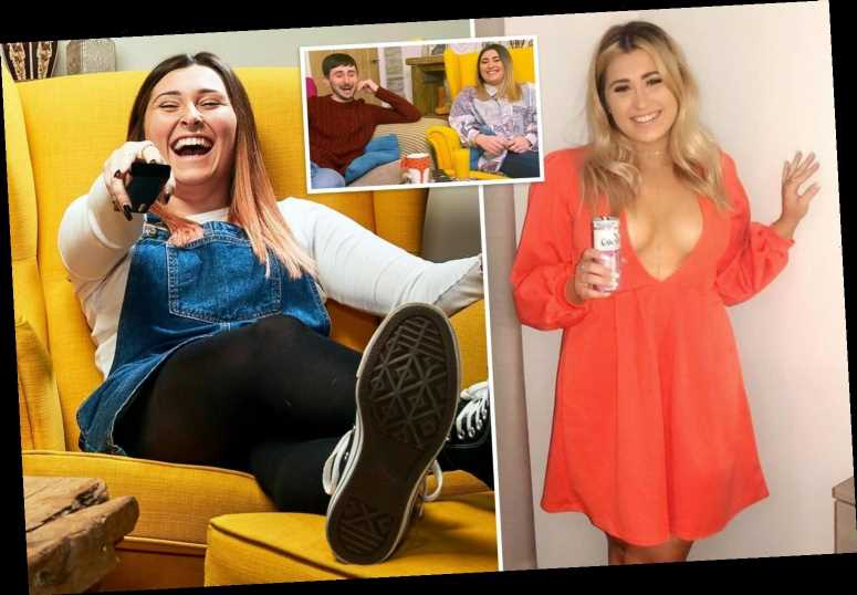 Googlebox's Sophie Sandiford unrecognisable in frontless dress as she heads off on night out