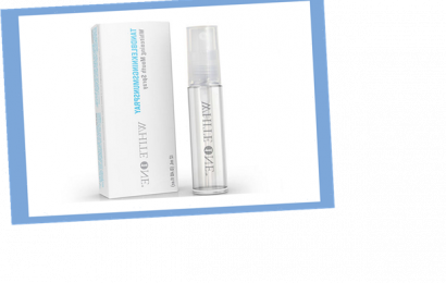 This at-home teeth whitening kit delivers professional level results