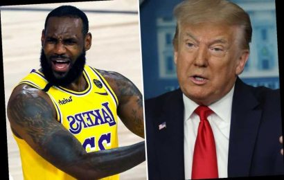 LeBron James hits back at Trump for criticizing his BLM protest and mocks his claim about 'doing more for black people'
