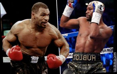 Mike Tyson reveals fantasy dream fight would have been to 'fight dirty' and face undefeated Floyd Mayweather – The Sun