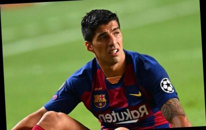 Luis Suarez placed on Barcelona transfer list after club's humiliating exit from the Champions League