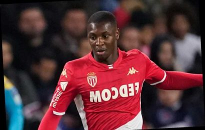 Man Utd set to be beaten to transfer of Monaco star Ballo-Toure by Leicester as replacement for Chelsea's Ben Chilwell