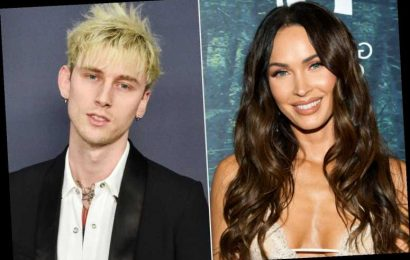 Machine Gun Kelly Rocks Out with Megan Fox After Brian Austin Green Poked Fun at the Couple