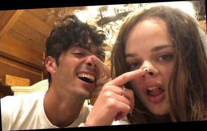 'Kissing Booth 2′ Stars Joey King & Taylor Zakhar Perez Are On a Road Trip!
