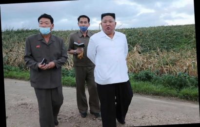 Kim Jong Un makes appearance to evaluate typhoon damage
