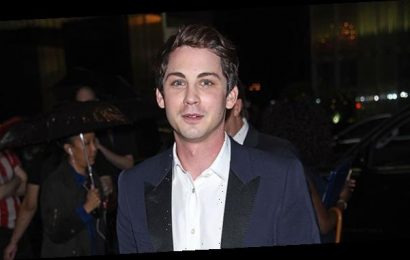 Logan Lerman, 28, Shows Off Natural Gray Streaks On Recent Outing — Before & After Pics