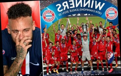 PSG 0 Bayern 1: Coman header seals sixth Champions League trophy for German kings in frustrating night for Neymar