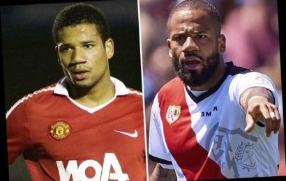 Bebe claimed leaving Man Utd was 'best moment of my life' but averaged just two goals a year since.. so where is he now?