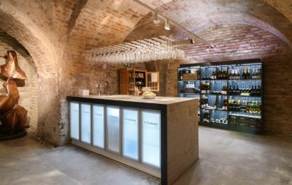 A swanky European social club where members pay thousands to store wine in speakeasy-like lounges is opening its first stateside location in DC — take a look inside