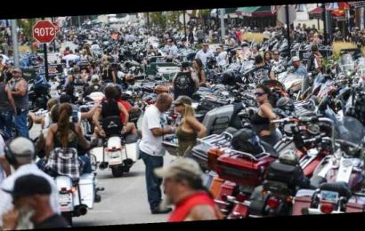 More than 100 coronavirus cases in 8 states linked to massive Sturgis Motorcycle Rally in South Dakota