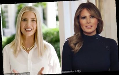 Melania Trump Gives Stepdaughter Ivanka the Stink Eye in Viral Video