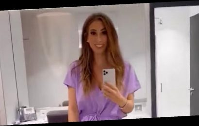 Stacey Solomon stuns in comfy £17 lilac jumpsuit for Loose Women special