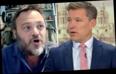 Good Morning Britain's Ben Shephard issues warning to guest after furious rant: 'Careful!'