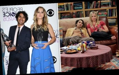 Big Bang Theory's Kaley Cuoco sends fans into frenzy with sweet message to Kunal Nayyar