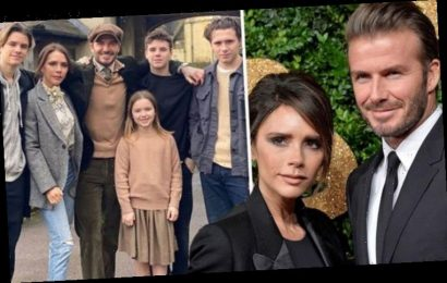 David and Victoria Beckham 'caught coronavirus in LA and feared they were superspreaders'