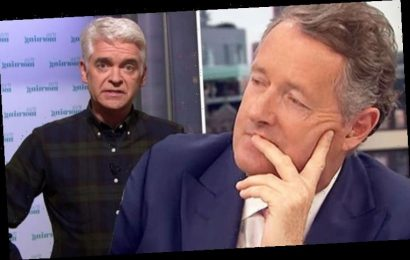 Piers Morgan details 'unexpected turn' as Phillip Schofield talks 'bursting into tears'