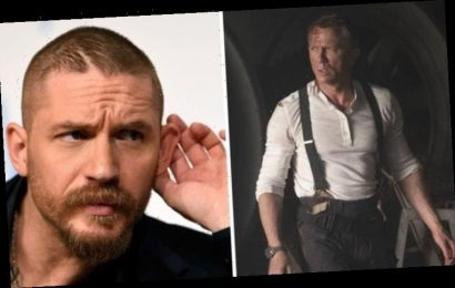 James Bond cast: Will Tom Hardy replace Daniel Craig as 007?