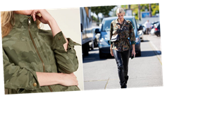 The Camo Jacket Is Fall's Perfect Piece — We Found It For $40