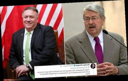 US Ambassador to China Terry Branstad steps down