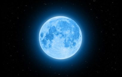 Everything To Know About The Rare Blue Full Moon On Halloween This Year